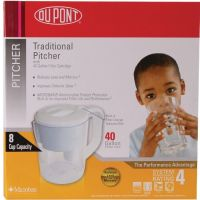 DUPONT® PT100XW Traditional Water Filter Pitcher