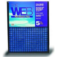 """20x25x1 WEB® High Efficiency 1"""" Thick Filter"""