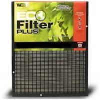 "20x25x1 WEB® Eco Plus Permanent Electrostatic 1"" Thick Filter"