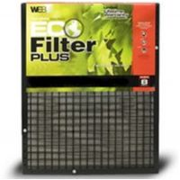 "25x30x1 Adjustable WEB® Eco Plus Permanent Electrostatic 1"" Thick Filter"